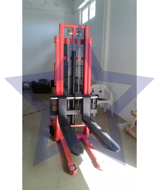 Viljuškar ručni hidraulični stacker